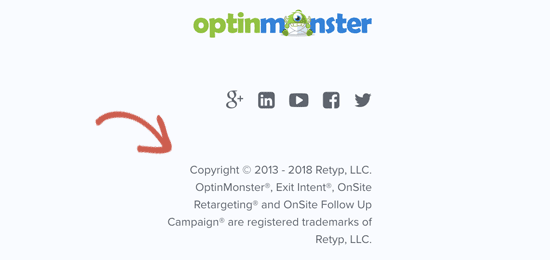 first step in protecting your trademarks and copyright is to clearly indicate your registered trademarks and copyright protection on your website